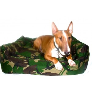 Military Cosy Dog Bed